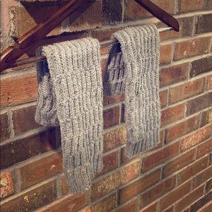 Knit Knee High Leg Warmers